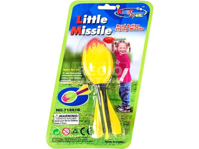 Célbadobó habszivacs rakéta - többféle