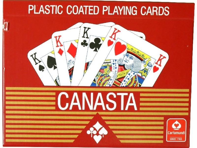 Canasta dupla kártya