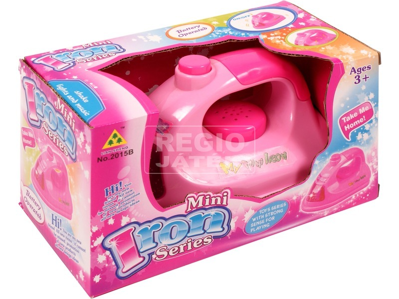 Elektromos játék vasaló - rózsaszín