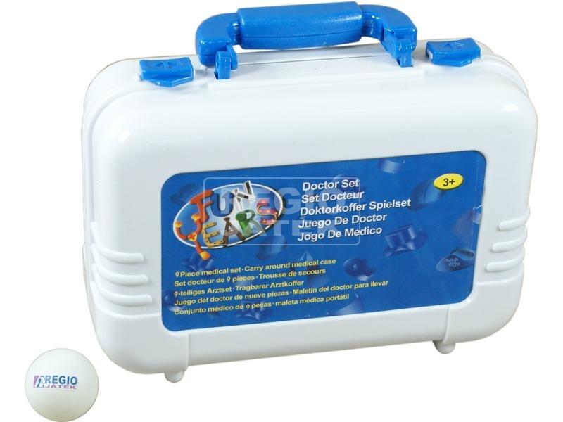 kép nagyítása Orvosi táska 9 darabos készlet - fehér