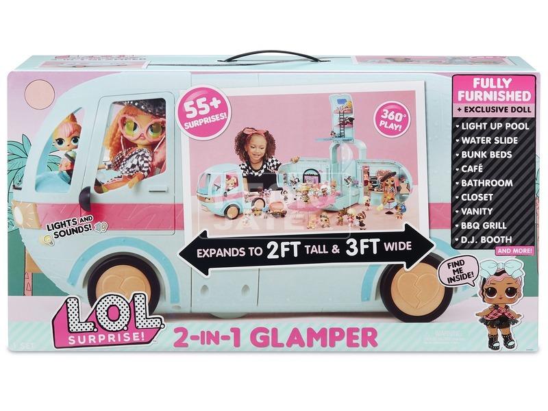 L. O. L. Glamper busz LOL562511