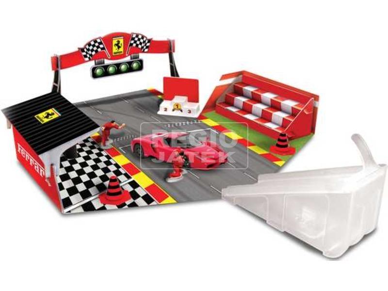 Burago Ferrari szétnyitható szett autóval