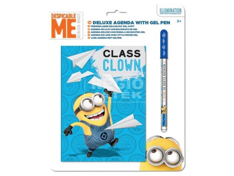 Minion napló tollal