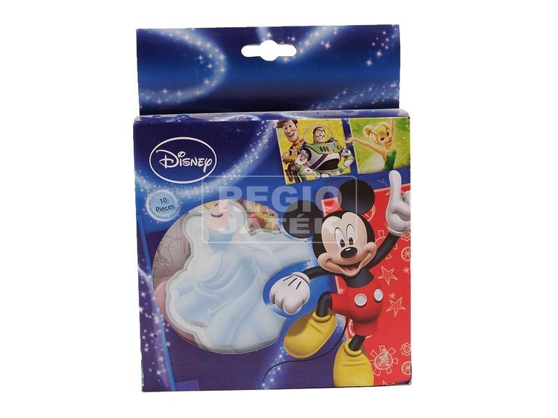 Disney hercegnők fali dekoráció 10 darabos készlet