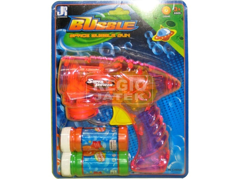 Super Power buborékfújó pisztoly - többféle