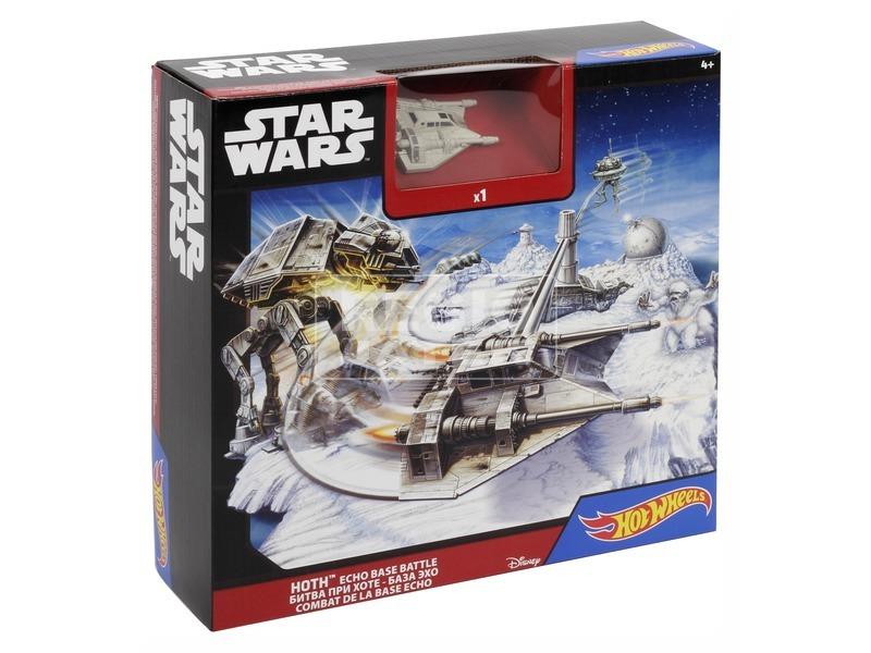 Hot Wheels Star Wars Hoth bolygó csata készlet