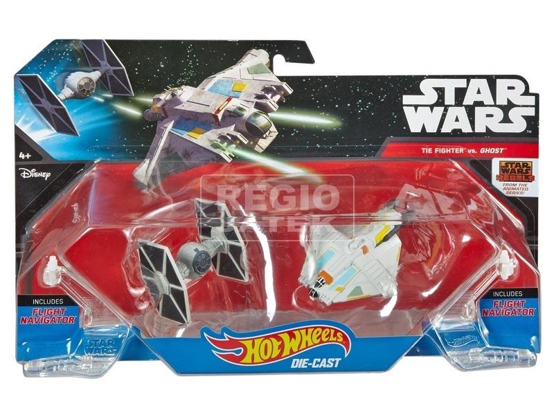 Hot Wheels Star Wars csillaghajó 2 darabos készlet