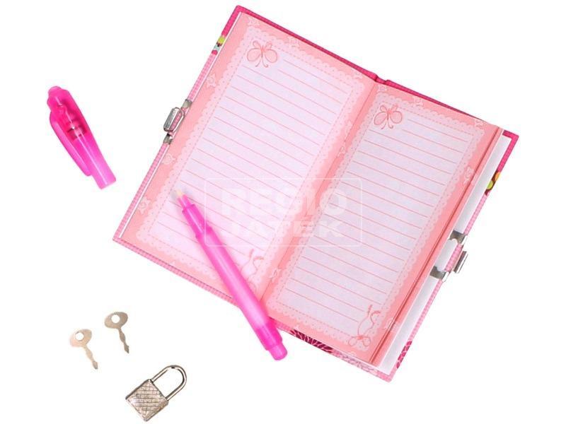 kép nagyítása Bagoly mintás titkos napló