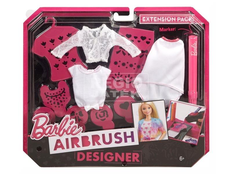 Barbie Festékszóró stúdió kiegészítő készlet CMJ