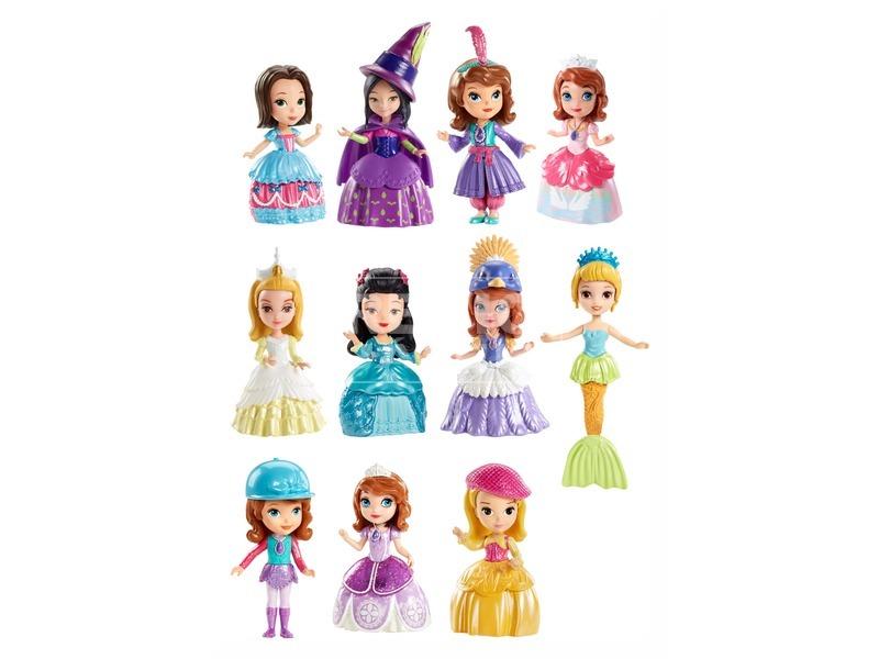 Szófia hercegnő mini baba - 9 cm, többféle