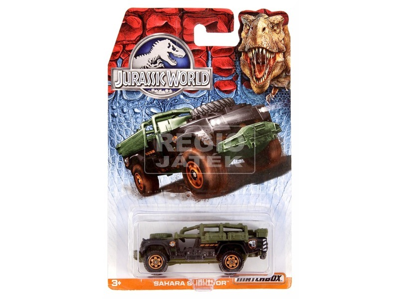 Matchbox Jurassic World kisautó - többféle