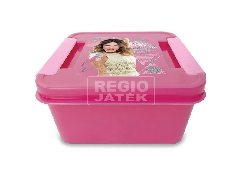 Violetta uzsonnás doboz - rózsaszín