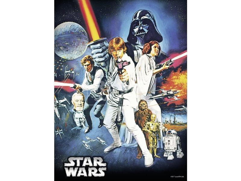kép nagyítása Star Wars: Az új remény 500 darabos puzzle