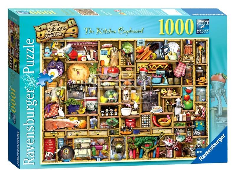 Puzzle 1000 db - A kíváncsi szekrény 19107