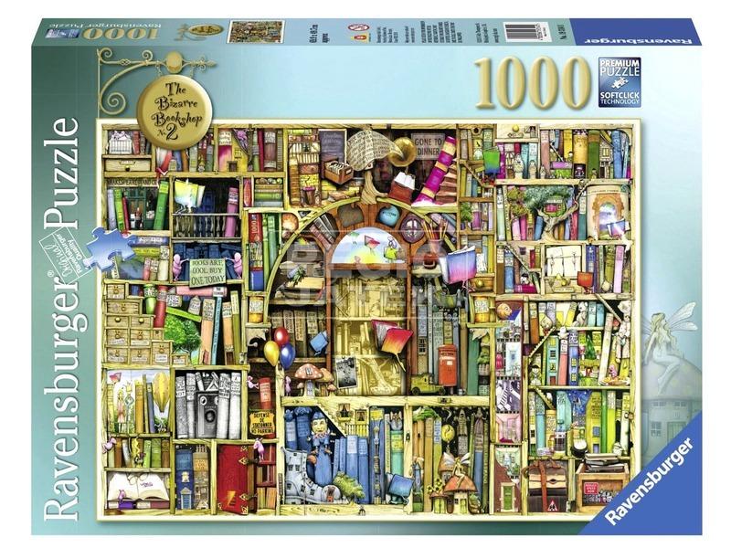 Puzzle 1000 db - Bizarr könyvesbolt 2 19314