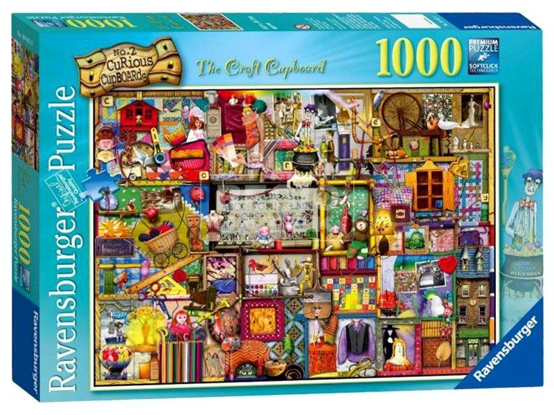 Puzzle 1000 db - A bátor szekrény 19412