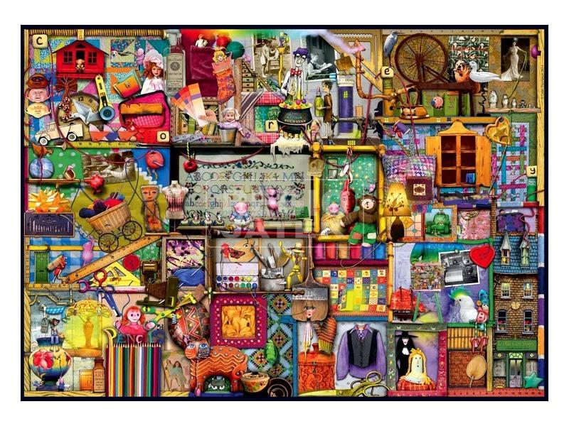 kép nagyítása A kézműves szekrény 1000 darabos puzzle