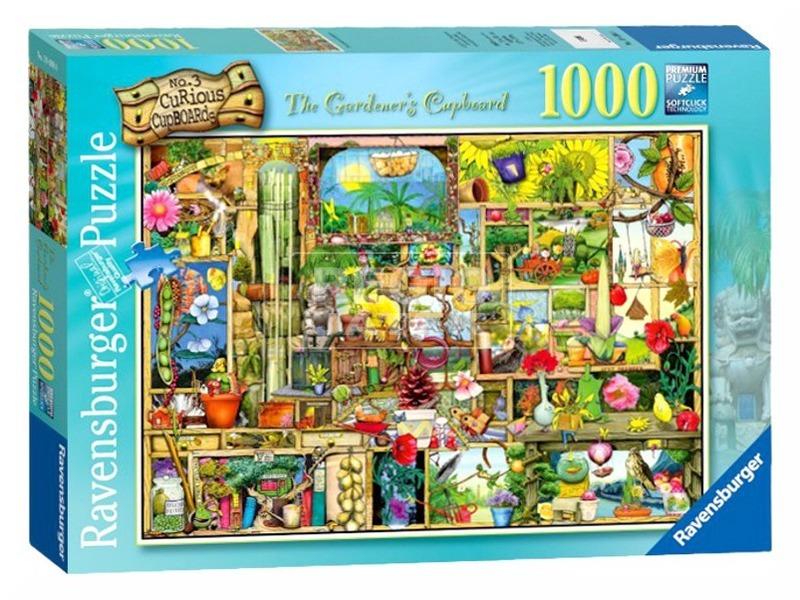 Puzzle 1000 db - A kertész szekrénye 19498