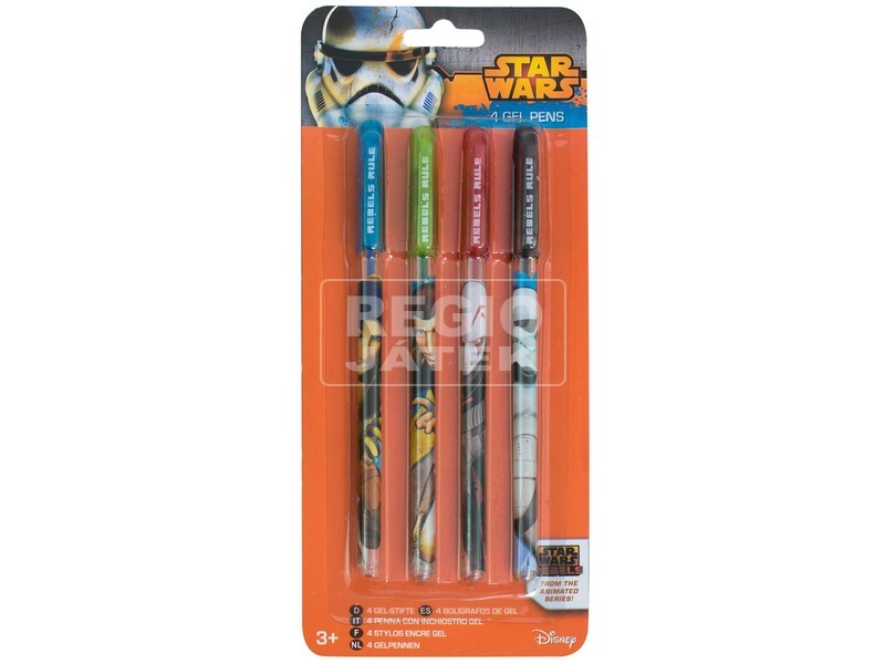 Zselés toll, 4 db /csomag - Star Wars