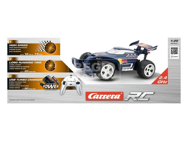 Carrera Red Bull RC1 távirányítós autó - 1:20