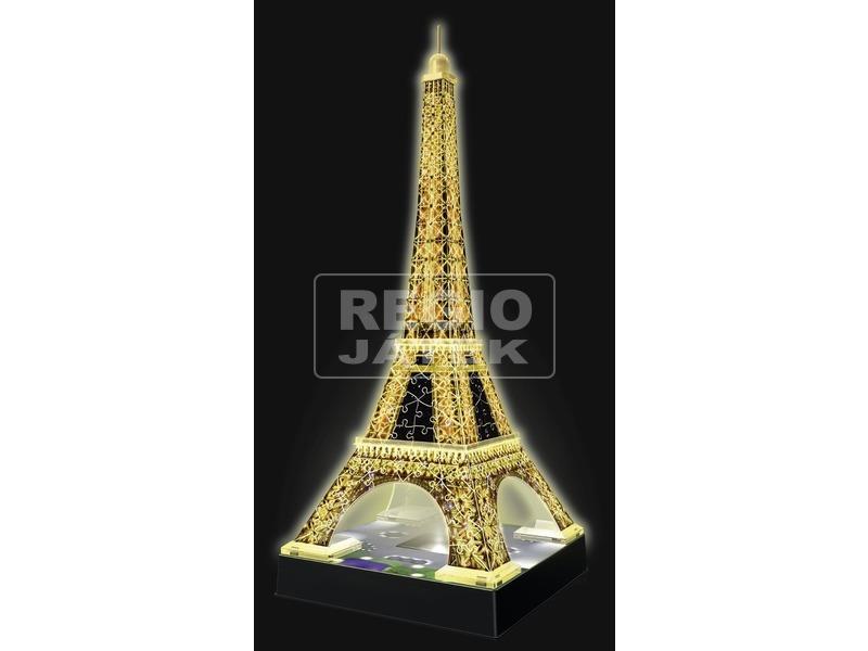 kép nagyítása Eiffel-torony 216 darabos 3D puzzle fénnyel