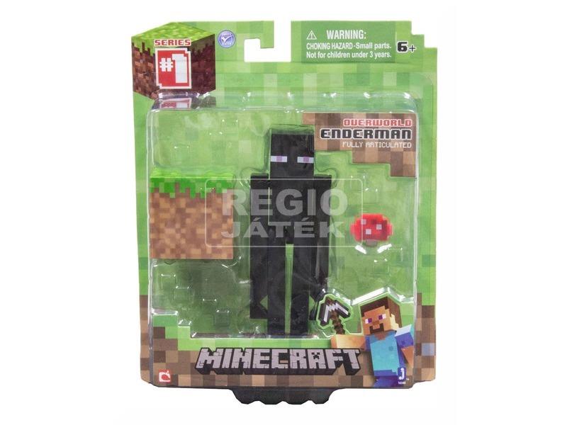 Minecraft Enderman figura kiegészítőkkel - 10 cm
