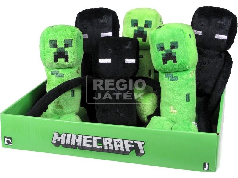 Minecraft szörny plüssfigura - 18 cm, többféle