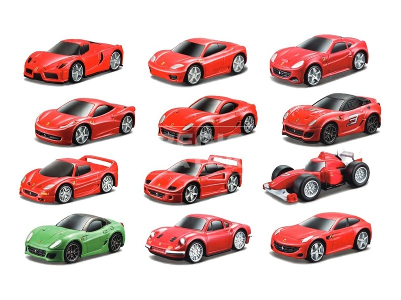 Bburago Ferrari Kids kisautók Bliszteren