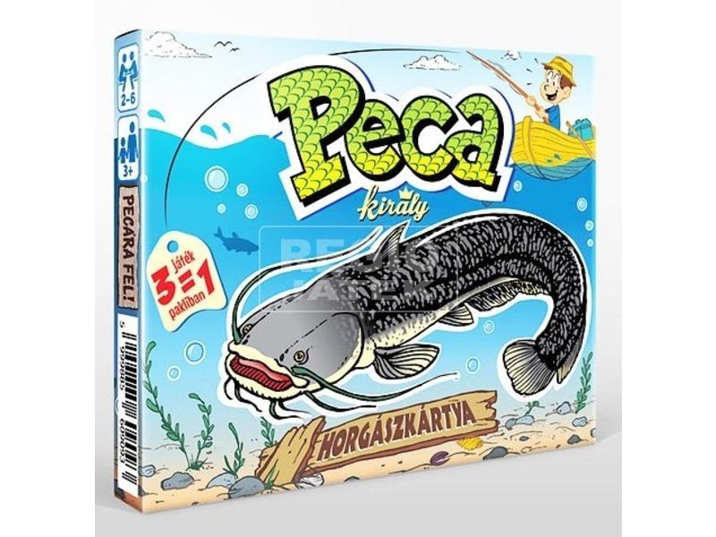 Peca király horgászkártya