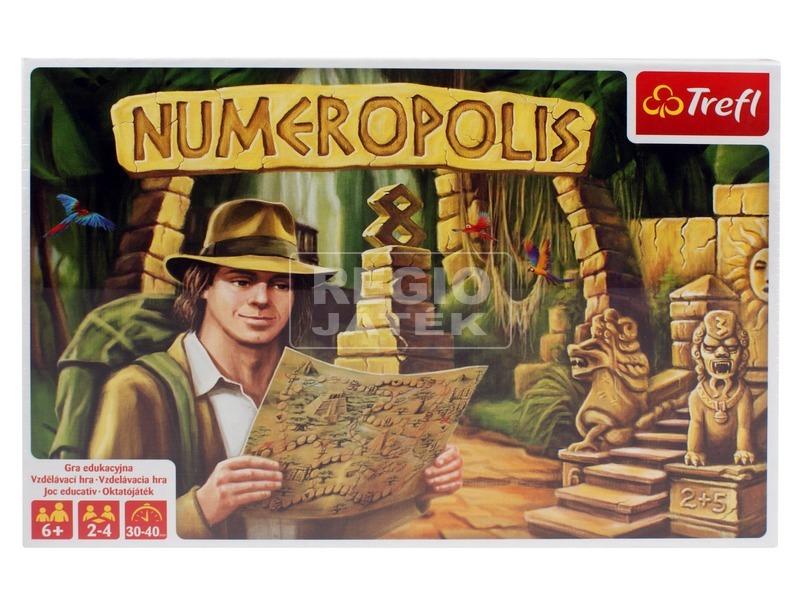 Numeropolis oktató társasjáték