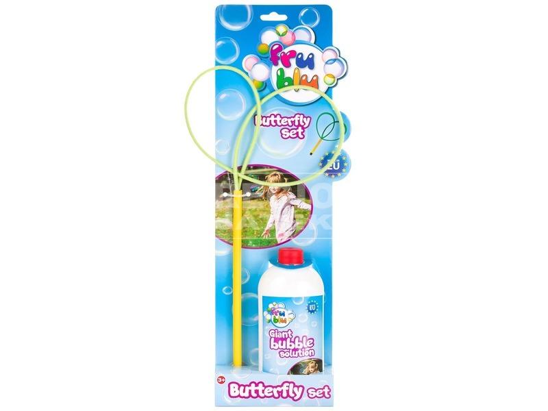 Mega Bubi buborékfújó pillangó utántöltővel