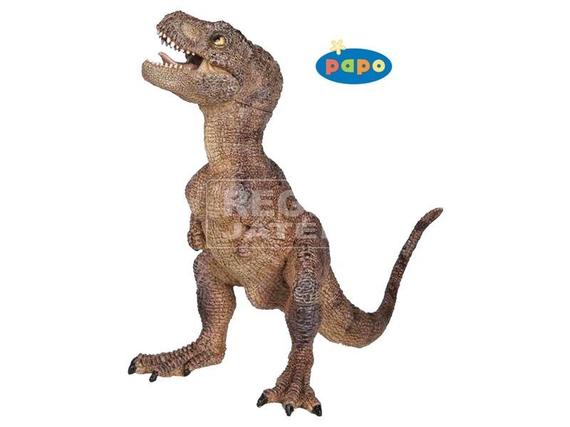 Papo barna tyrannosaurus rex dínó 55029