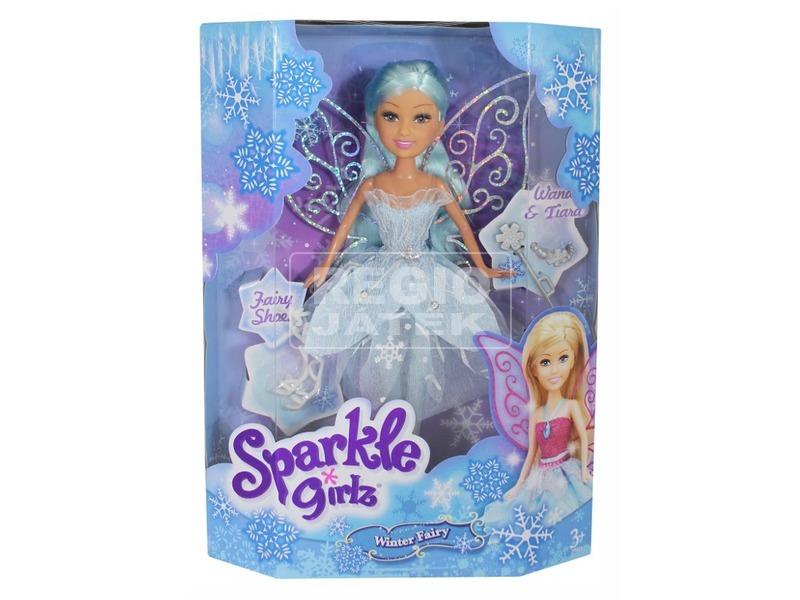kép nagyítása Sparkle girlz - Téltündér baba kiegészítőkkel, 4 féle