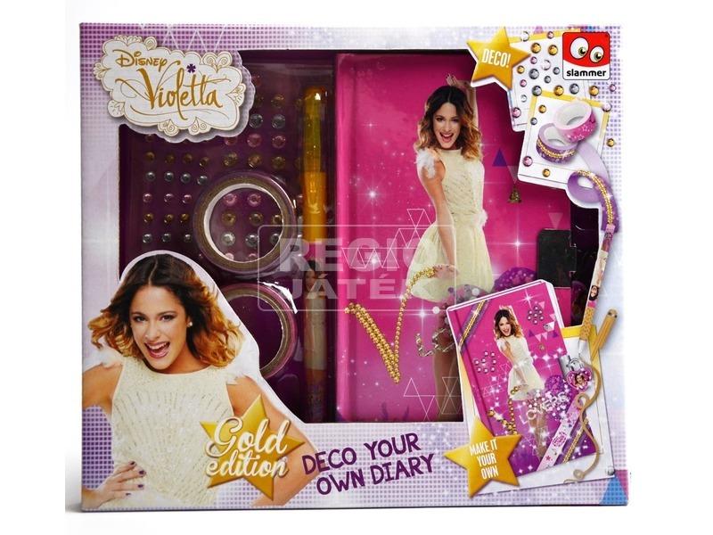 Violetta napló készítő készlet