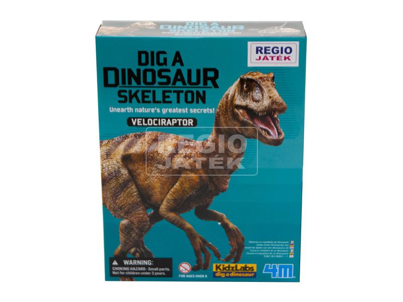 kép nagyítása 4M dinoszaurusz régész készlet - velociraptor