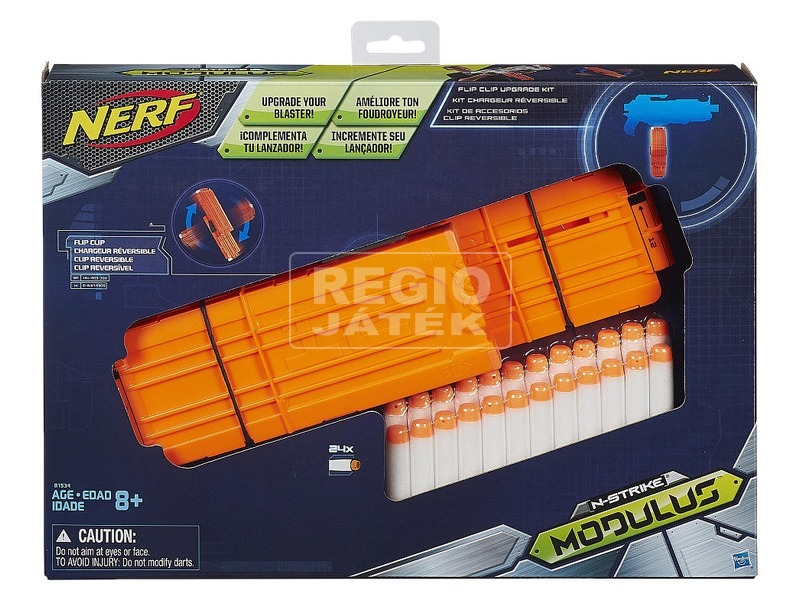 NERF N-Strike Modulus tár készlet lőszerrel