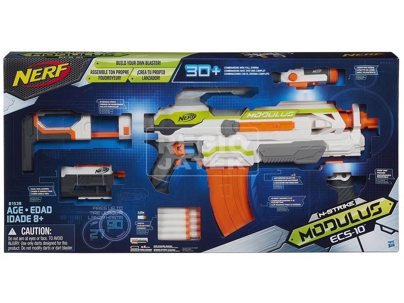 NERF Modulus ECS-10 szivacslövő fegyver