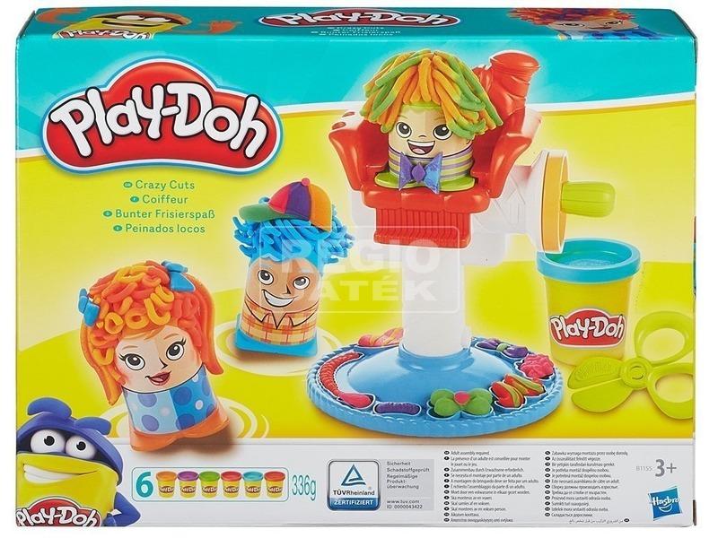 Play-Doh őrült fodrász szalon