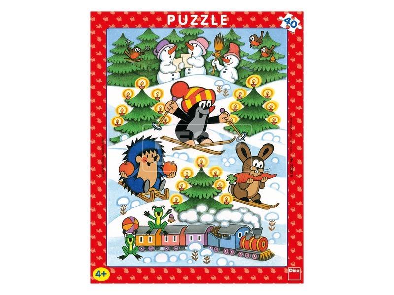 Kisvakond karácsonya 40 darabos puzzle