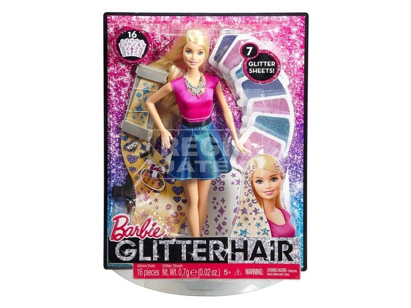 Barbie: Csillámhaj Barbie baba