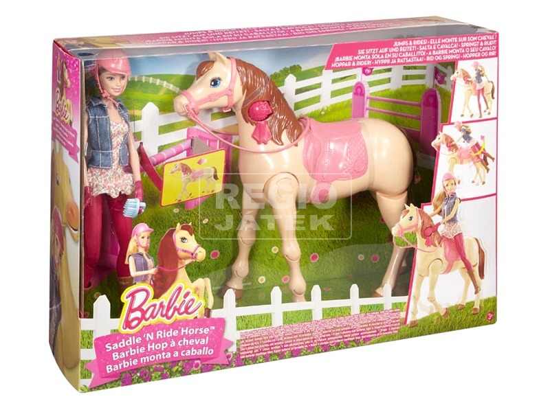 Barbie baba csodalóval CMP