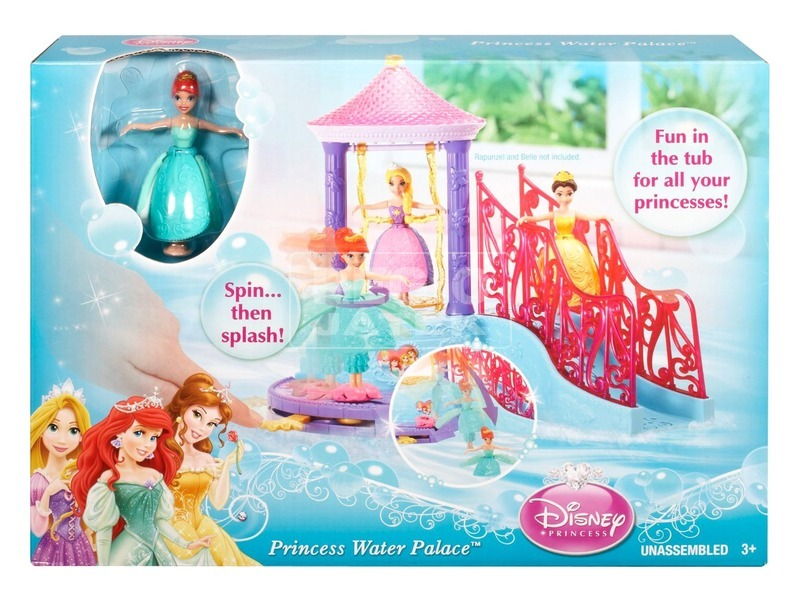 Disney hercegnők: mini vízipalota játékkészlet