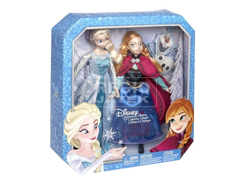 Jégvarázs Elsa és Anna hercegnő baba páros készlet