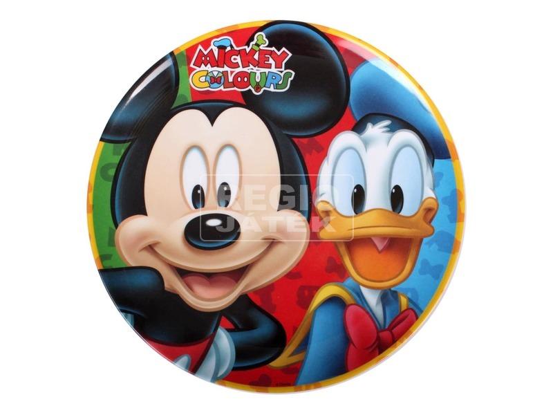 Melamin Mickey lapostányér