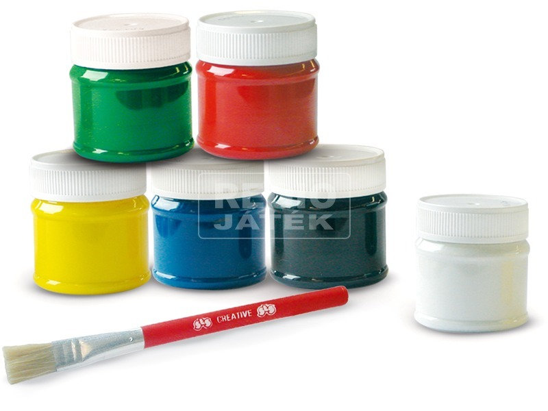 kép nagyítása SES ujjfesték készlet - 6 x 50 ml