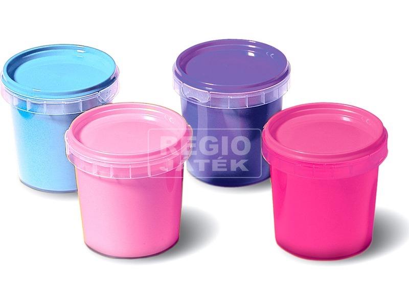 kép nagyítása SES ujjfesték lányoknak 4 darabos készlet - 150 ml
