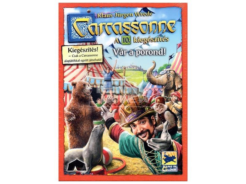 Carcassonne Vár a porond kiegészítő