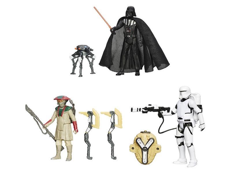 Star Wars: Az ébredő Erő sivatagi akciófigura - 10 cm, többféle