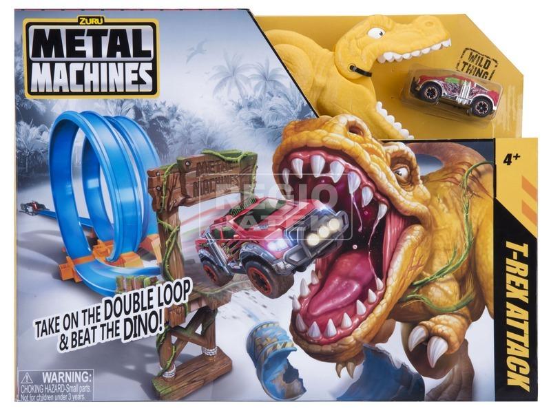 kép nagyítása Metal Machines T-Rex közepes pályakészlet