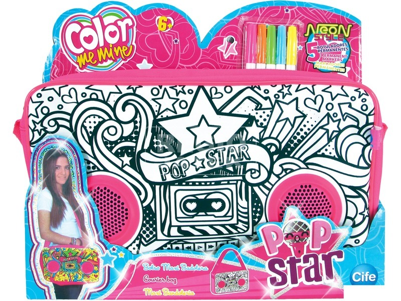 Color Me Mine Pop Star nagy táska